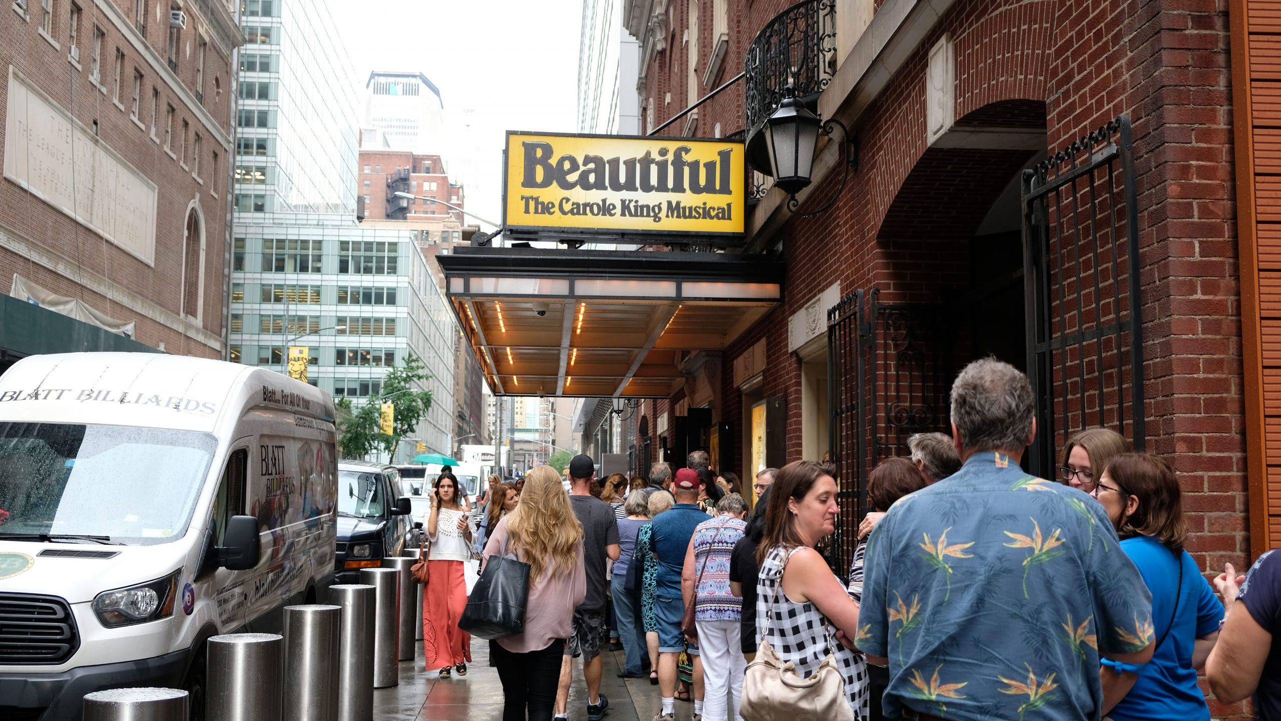 [紐約] 百老匯音樂劇之夜:Beautiful, The Carole King Musical 意外的美麗相遇