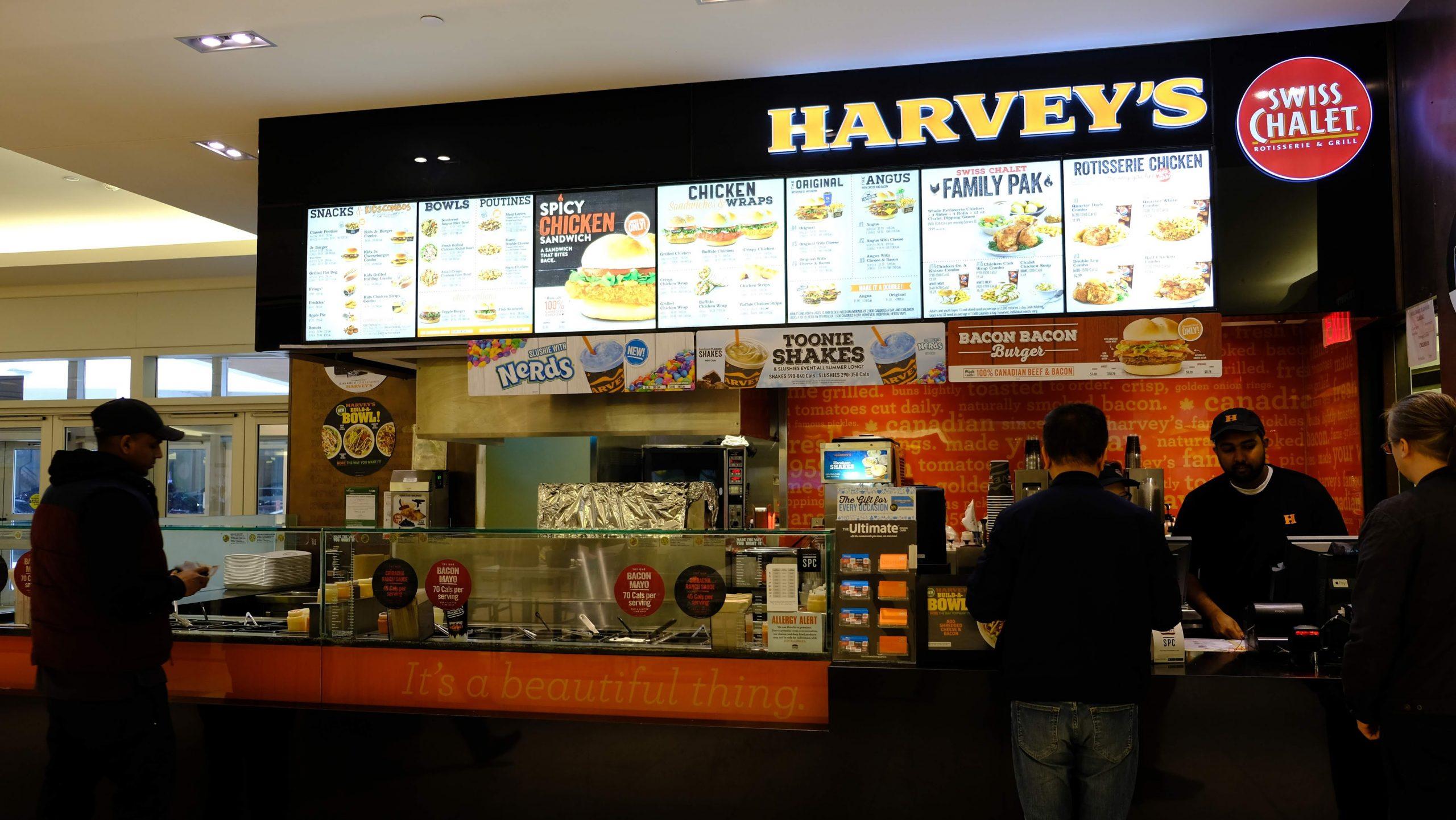 [多倫多] Harvey's:加拿大高質連鎖漢堡包店