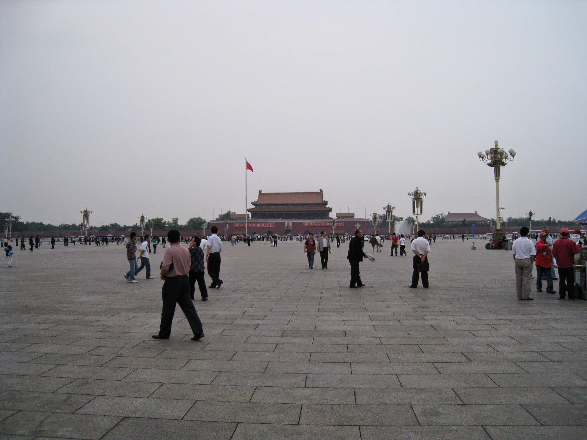 [北京] 天安門:當年今日的歷史記印,遺忘與等待